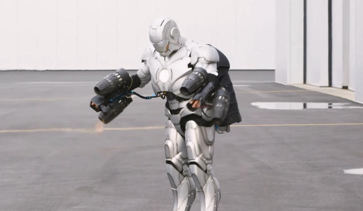 Adam Savage Builds an Iron Man Suit