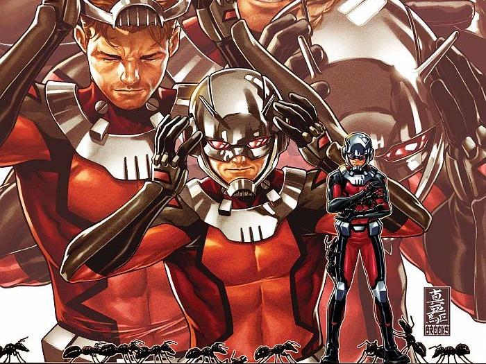 Scott Lang- Marvel Comics