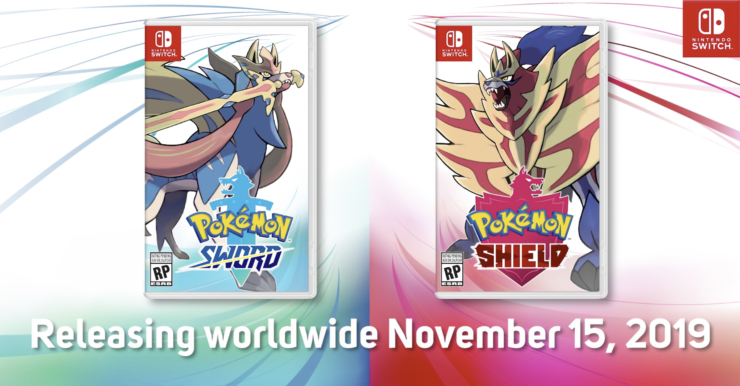 Pokemon Sword and Shield Release Date worldwide, November 15th, 2019