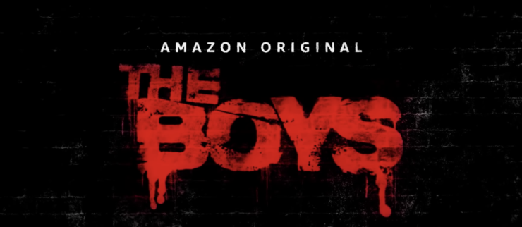 The Boys Title Card from the new Amazon Prime Original Series
