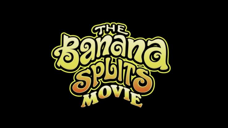 Banana Splits Movie Title Placard