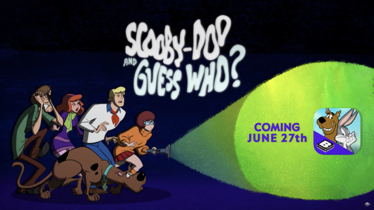 Scooby Doo and the Guess Who? Title Card