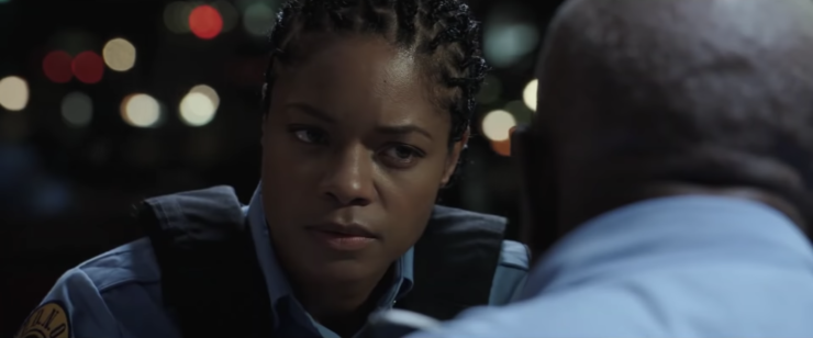 Naomie Harris in the Black and Blue official trailer