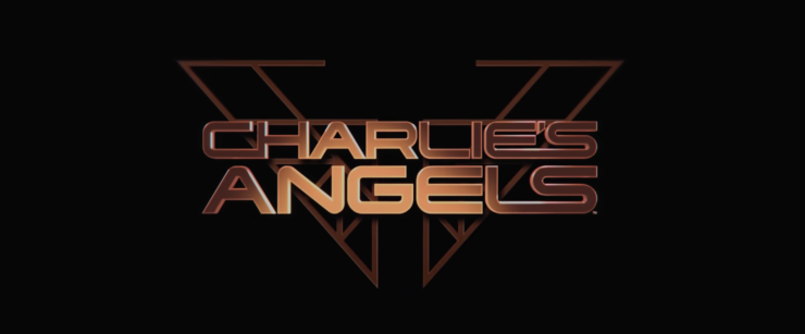 Charlie's Angel Official Trailer Title Placard