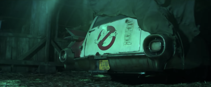 Ghostbusters 2020 Teaser Trailer showing the Ghostbusters Van