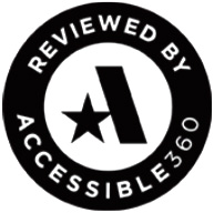 Accesible 360 badge