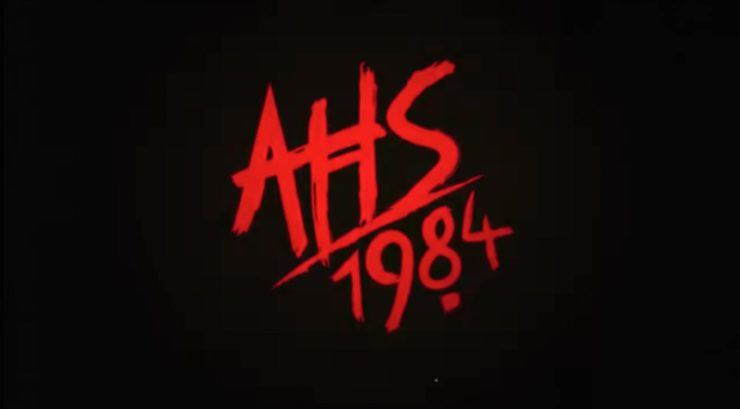 American Horror Story 1984 title card