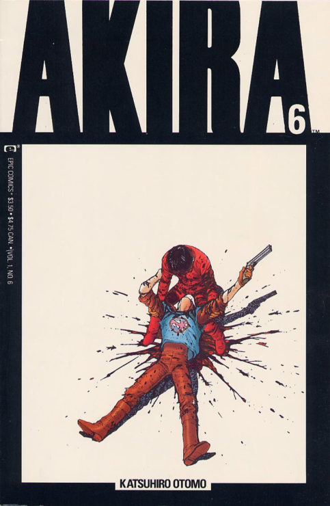 Akira- 10 Best Graphic Novels