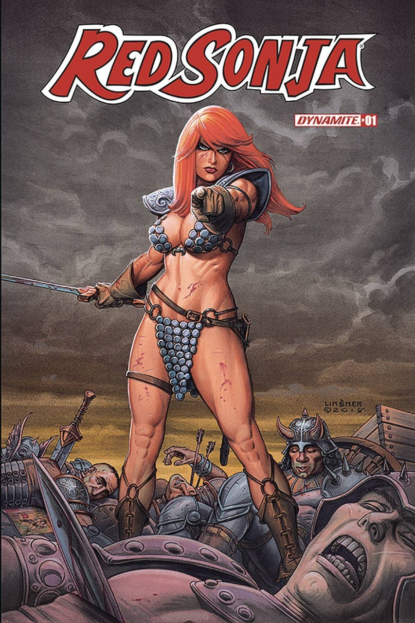 Red Sonja Comic Book Cover