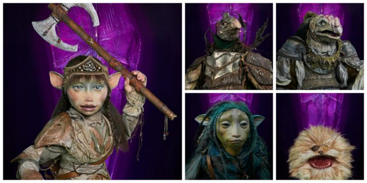 New Characters from the Dark Crystal Age of Resistance Netflix series