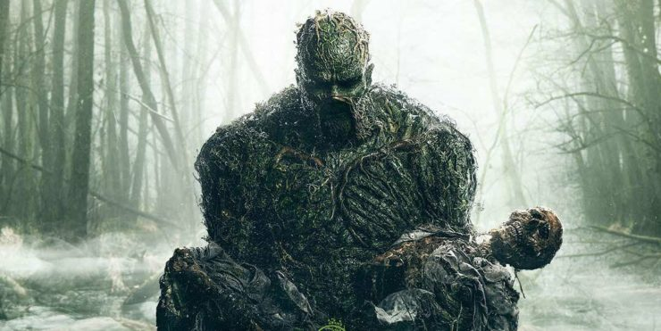 dc swamp thing poster