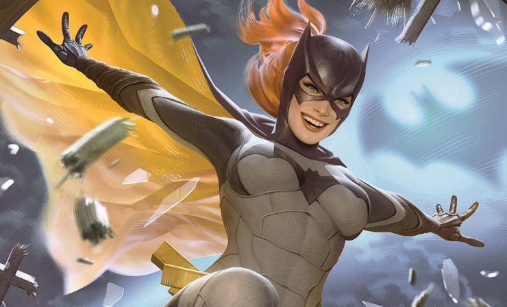 The Batgirl Fine Art Print by Alex Garner Drops in to Your DC Comics Collection!