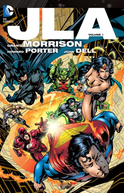 JLA- 10 Best Graphic Novels