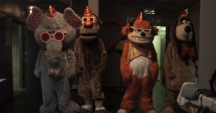 Watch Out for the Banana Splits in New Horror Film Trailer