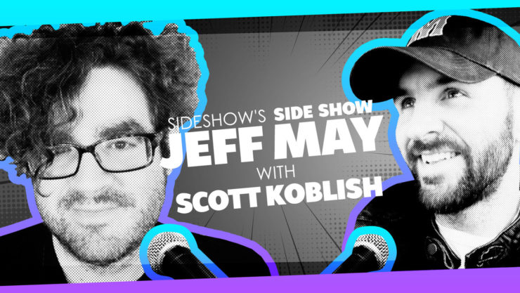 Superstar Comics Artist Scott Koblish Talks Being a Geek on Sideshow's Side Show with Jeff May!