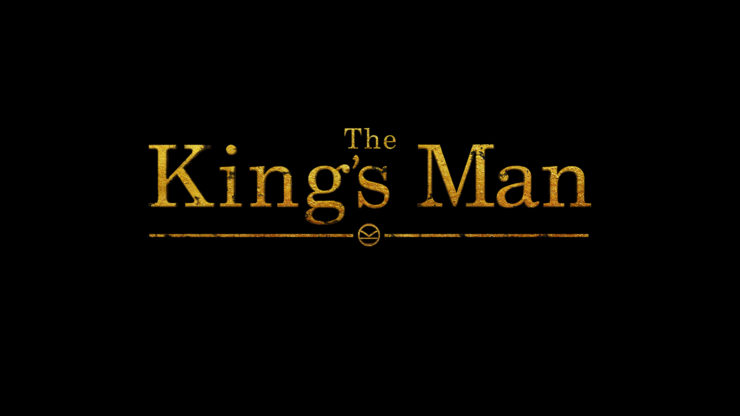 The King's Man Title Placard