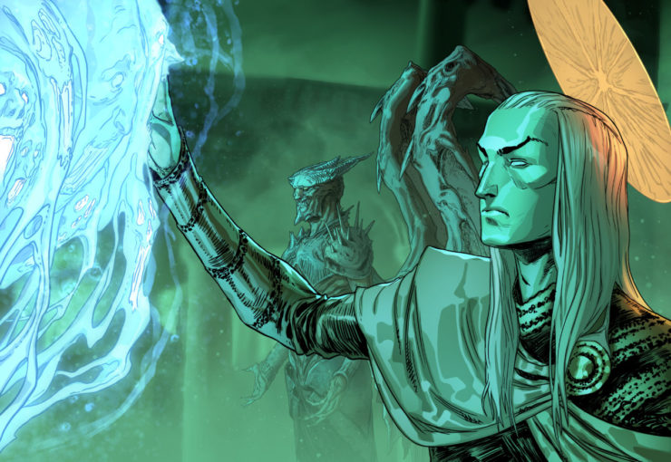 Go Beyond the Veil With the Newest Court of the Dead Animation: Tasked by Fate