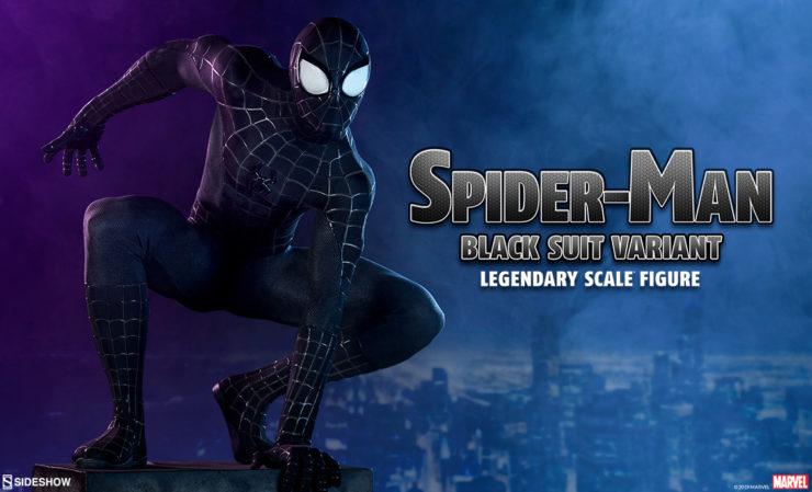Spider-Man Black Suit Variant Legendary Scale™ Figure