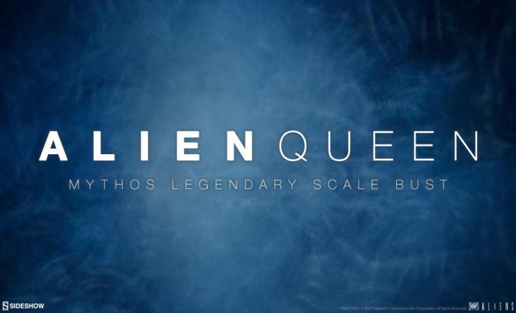Alien Queen Mythos Legendary Scale Bust