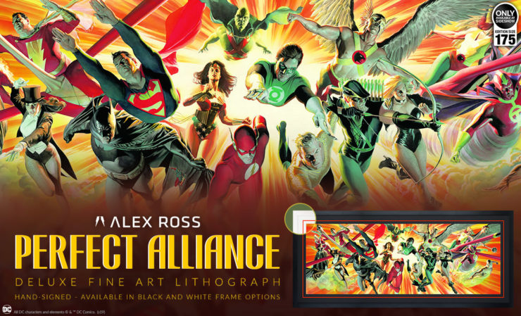 Perfect Alliance Deluxe Fine Art Lithograph by Alex Ross