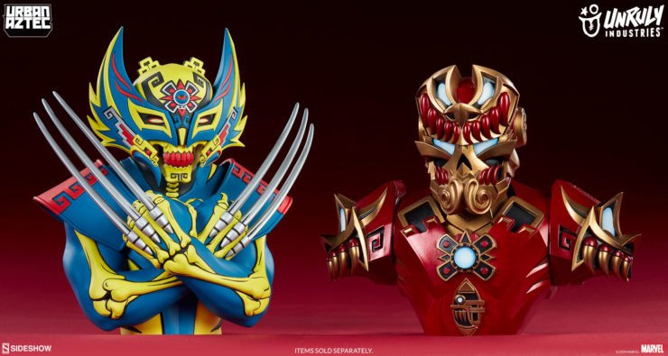 Mayan-Inspired Marvel and Melting Robots Lead the Next Unruly Industries™ Designer Toy Wave