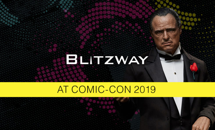 Blitzway Display at San Diego Comic-Con 2019!