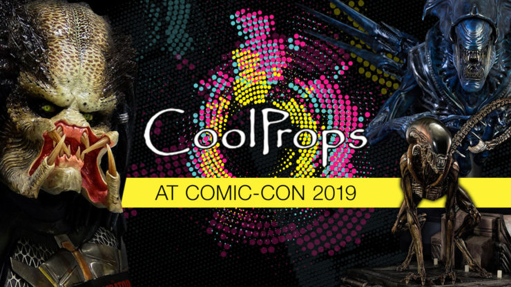CoolProps Display at San Diego Comic-Con 2019!