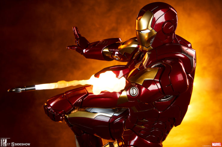 Deploy the Iron Man Mark VII Maquette in Your Marvel Cinematic Universe Collection