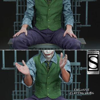 The Joker Premium Format™ Figure Exclusive Edition Clapping Hands Comparison