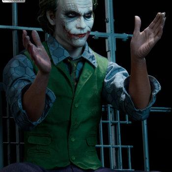 The Joker Premium Format™ Figure Exclusive Edition Dramatic Lit Portrait 2