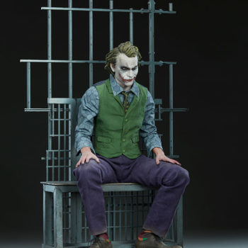 The Joker Premium Format™ Figure Open Lit Turnaround 5