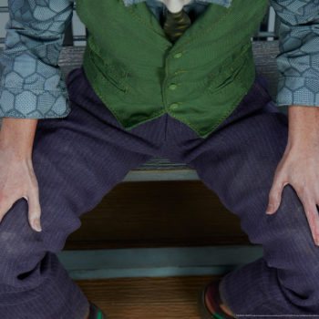 The Joker Premium Format™ Figure Hands Close-Up