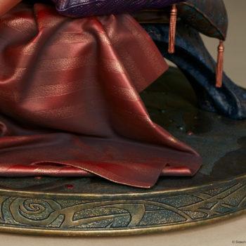 Dejah Thoris Premium Format™ Figure Sleeping Silks on Base Detail