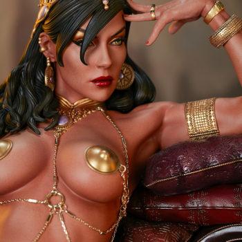 Dejah Thoris Premium Format™ Figure Portrait and Upper Body Detail