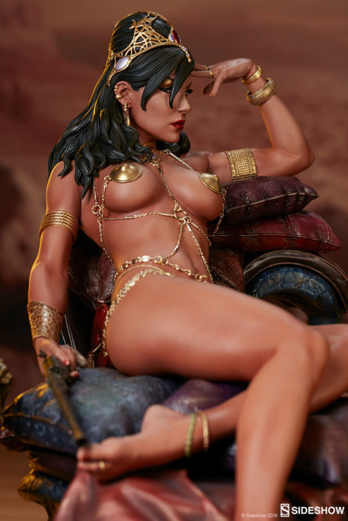 Dejah Thoris Premium Format™ Figure Vertical View of Figure- Side Angle