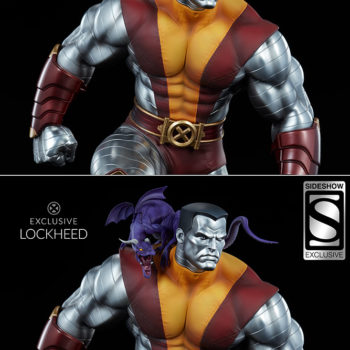 Colossus Premium Format™ Figure Exclusive Edition with Lockheed on Shoulder