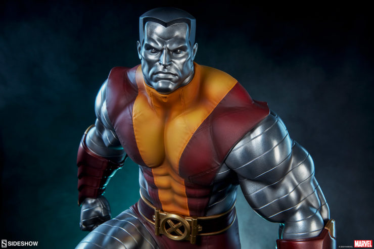 Colossus Premium Format™ Figure With Danger Room Themed Background