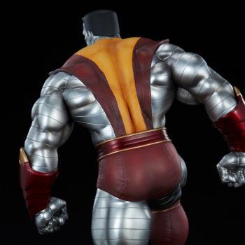Colossus Premium Format™ Figure Upper Body Costume Detail Backside