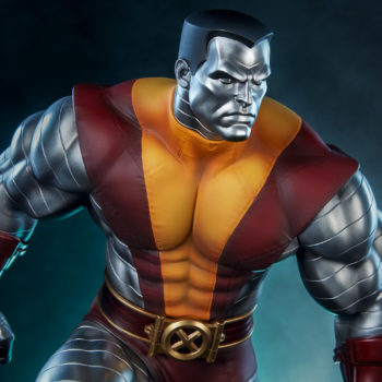 Colossus Premium Format™ Figure with Danger Room Dramatic Background 2