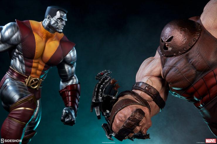 Colossus Premium Format™ Figure versus Juggernaut Maquette