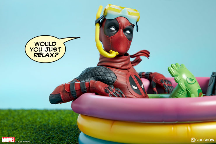 Keep it Cool in the Pool with the Kidpool Premium Format™ Figure