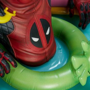 Kidpool Premium Format™ Figure Fin Fan Foom Floatie Close Up 1