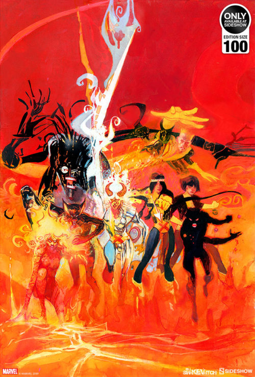 New Mutants Fine Art Lithograph by Bill Sienkiewicz