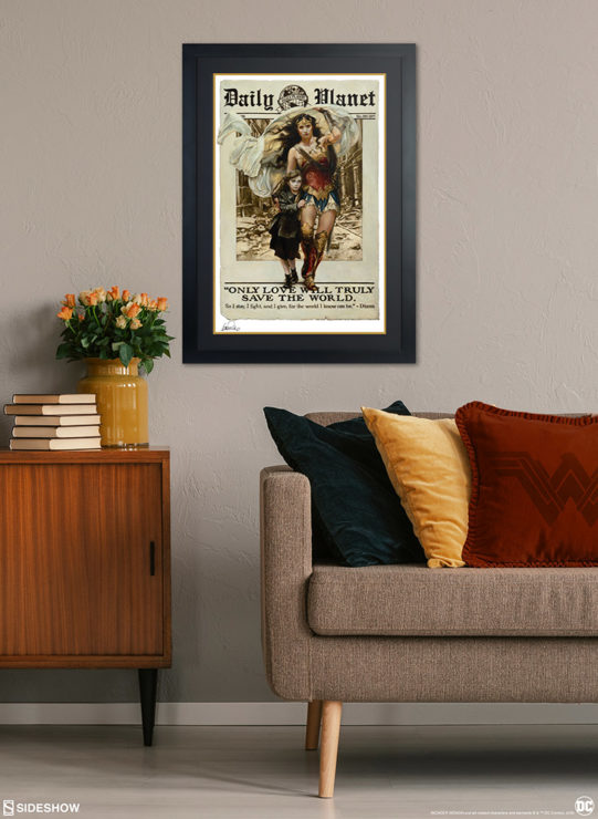 Only Love Fine Art Print by Heather Edwards Black Framed Edition Environment Shot