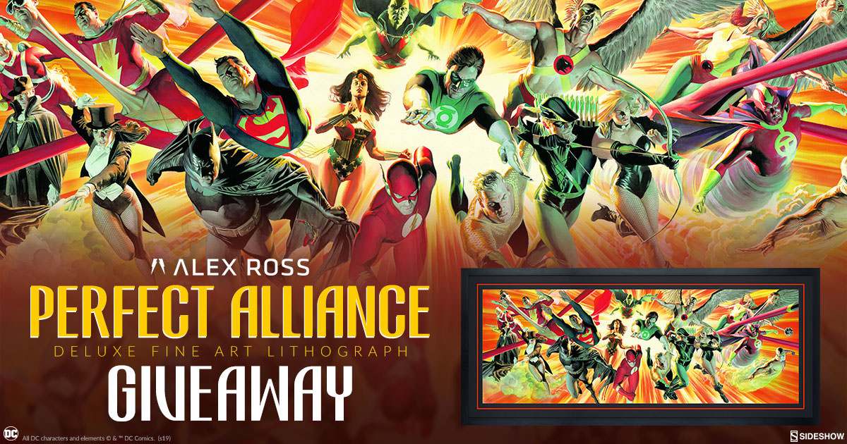 Alex Ross Perfect Alliance Deluxe Lithograph Giveaway