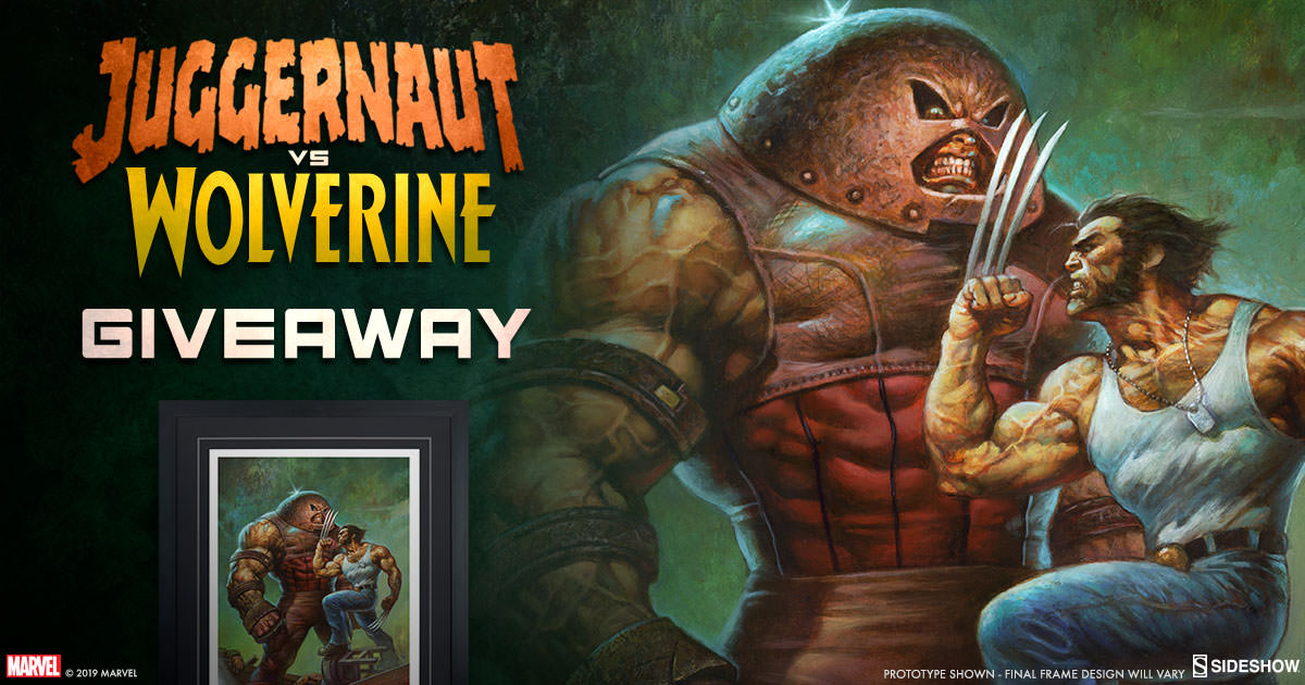 Juggernaut Vs Wolverine Print Giveaway