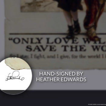 Only Love Fine Art Print by Heather Edwards Unframed Edition Hand-signed