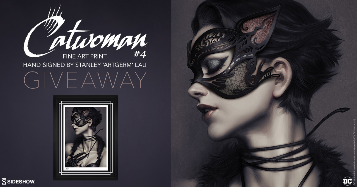 Catwoman #4 Fine Art Print Giveaway