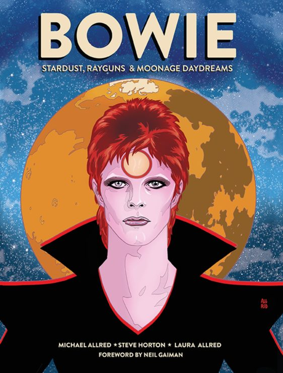David Bowie Graphic Novel Cover