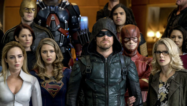 The CW Arrowverse Then & Now